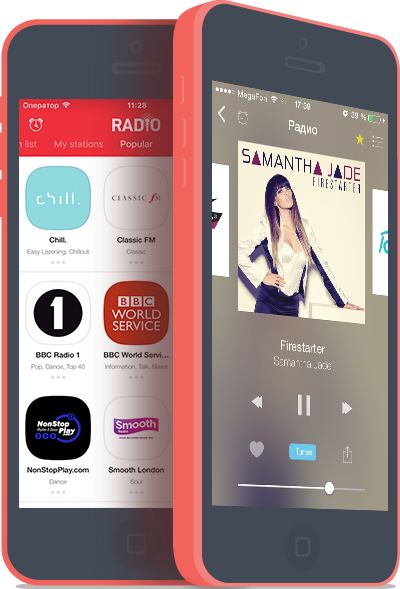 iOS radio for iPhone iPad iPod